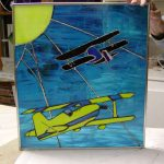 Stained Glass Airplanes
